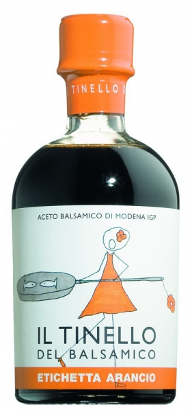 Il Tinello orange, Aceto Balsamico di Modena IGP 250ml